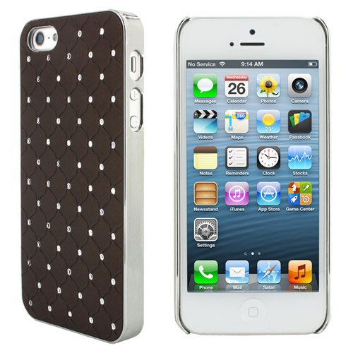 Luxury Bling Diamond Crystal Star Rhinestone Case Cover for Apple iphone 5 5G 5S 9 Colors  10pcs/lot