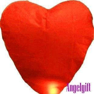Heart!fire chinese lantern party, halloween/christmas sky lantern,chinese sky lantern,wishing lantern kongming free ship nl026