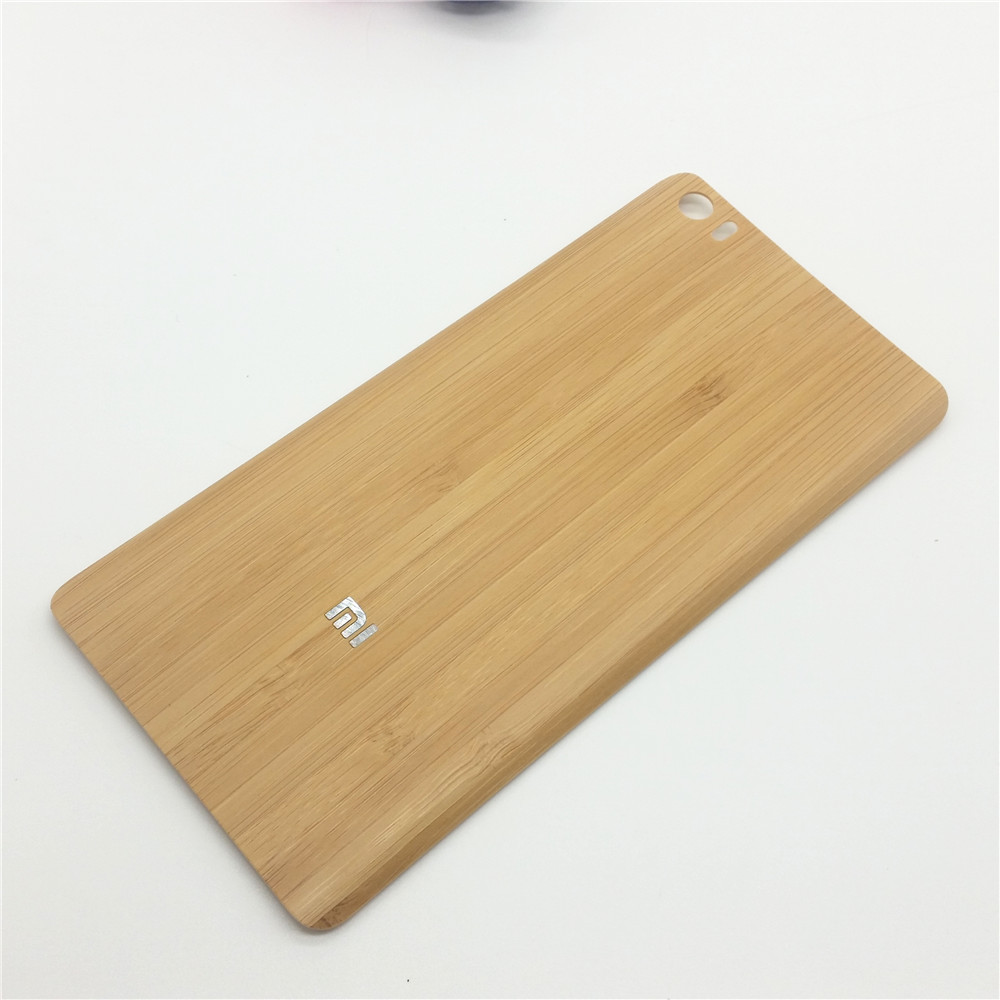 """New Natural Bamboo Wood / Plastic Replacement Door Back Battery Housing Cover Case For Xiaomi Mi Note / Mi Note Pro 5.7""""(China (Mainland))"""