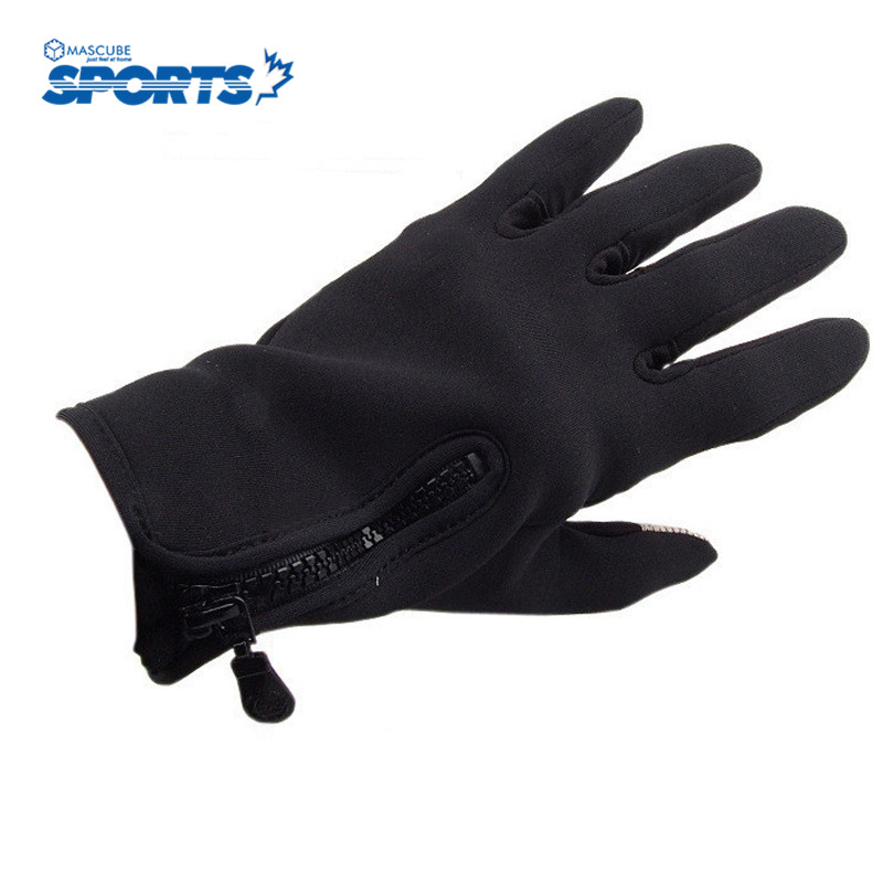 New Warm Cycling Gloves Outdoor Sports Ski Riding Full Finger Gloves Comfortable Silicone and Nylon Glove guantes ciclismo(China (Mainland))