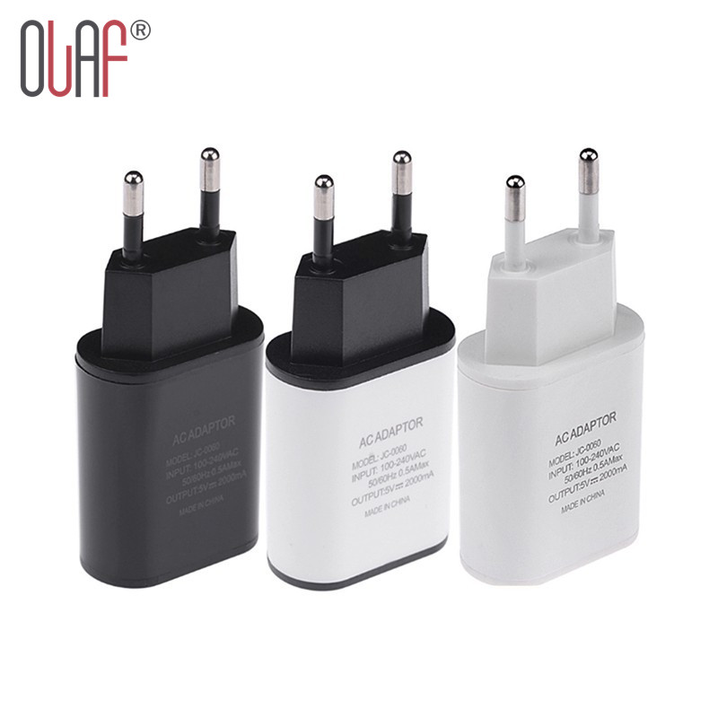 New Top Quality EU Plug 5V 2A USB Charger Fast Wall Travel Mobile Phone Charger Adapter For iPhone 5 6 6s 7 Plus Samsung LG HTC(China (Mainland))