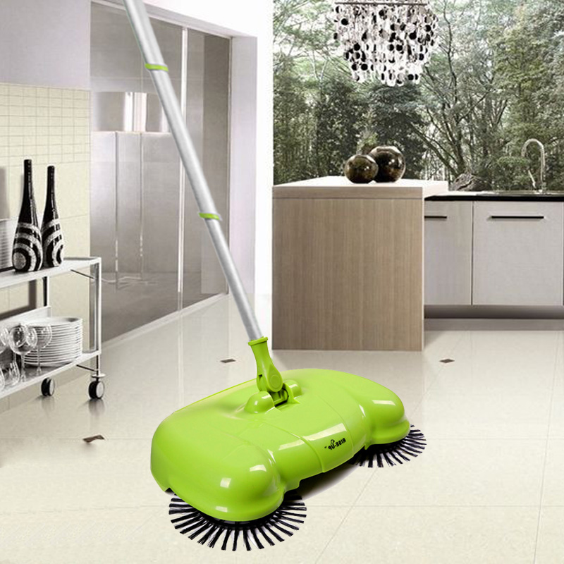 free shipping Thumb sweeper hadnd electric broom dustpan combination besmirchers dustpan set magic besmirchers(China (Mainland))