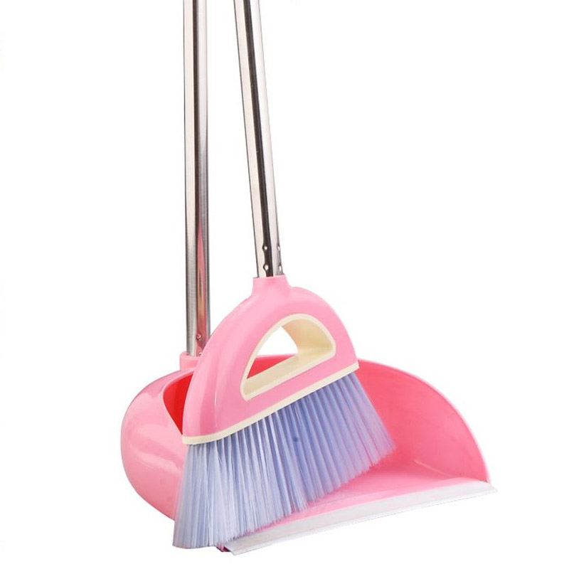 Hot Sale Broom Dustpan Set Plus Thickening Anti-skid Broom Applies To Office Kitchen High Quality Cleaning Tools Free Shipping(China (Mainland))