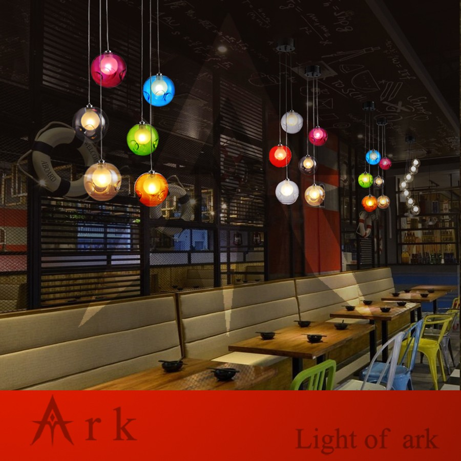 Ark Light Loft American Old Furniture Nostalgic Vintage 3 Bubble Pressure Cooker Tebus Double Pan Piknik Set Locksy Ball Led Pendant For Balcony Aisle Hallway Dining Room Us765