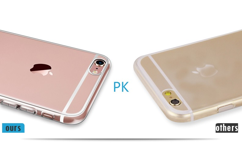 - HTB1OufYKFXXXXX XVXXq6xXFXXXX - Ultra Thin Soft TPU Gel Original Transparent Case For iPhone 6 6s 6Plus 6sPlus Crystal Clear Silicon Back Cover Phone Bags