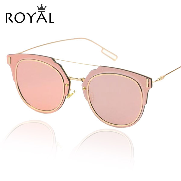 Buy 2015 new fashion sunglasses women brand designer sun glasses round metal What style glasses are in fashion 2015