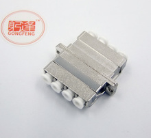 Buy GONGFENG 10PCS New Hot Optical Fiber Connector LC Quad Flange Coupler Metal Single Multimode Adapter Special Free for $35.48 in AliExpress store