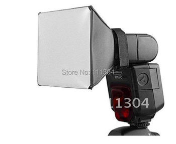 wholesale ! 100% NEW!  Universal Portable Flash Diffuser for Canon Nikon Sony DSLR flash Speedlite