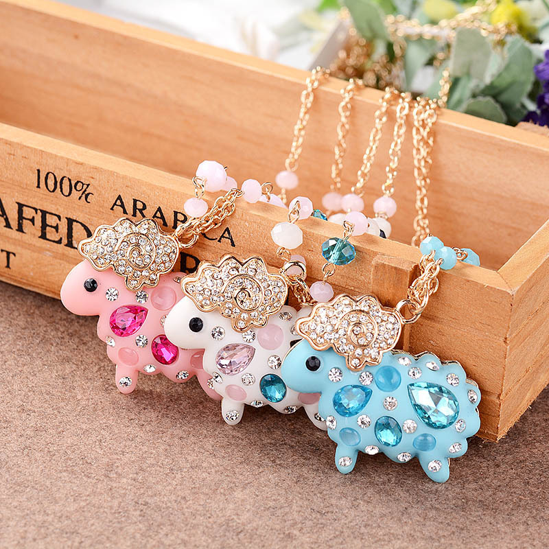 New hot explosion models lambs wool sweater chain Korean style long necklace environmentally friendly materials Spot S0521(China (Mainland))