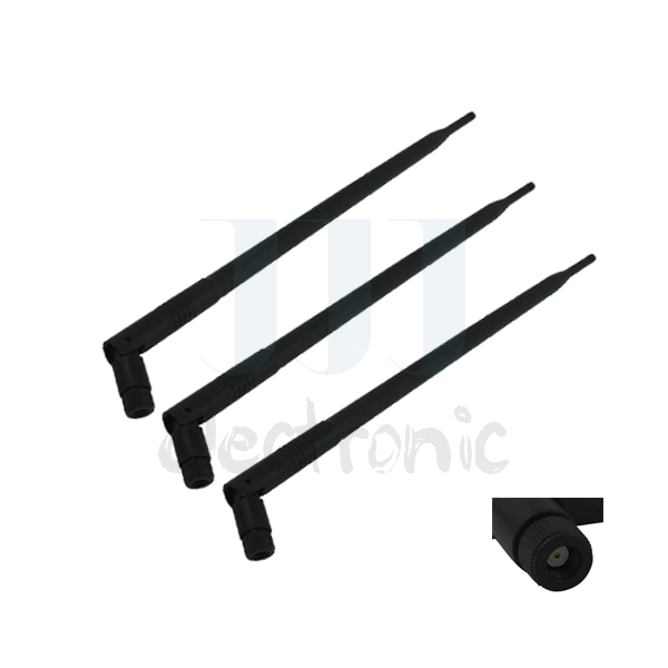 3 9dBi 2.4GHz 5GHz Dual Band RP-SMA WiFi Antennas for Linksys EA6900 for ASUS RT-AC68U(China (Mainland))