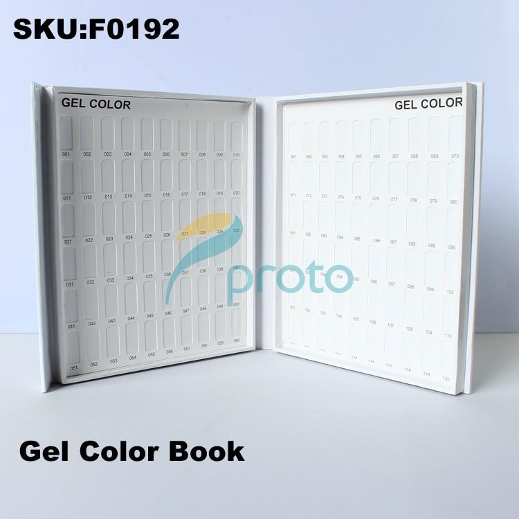 SHIP FROM USA - Nail Polish Color Book UV Gel Color Card Nail Tech Book Nail Tech Must Have SKU:USF0192(China (Mainland))