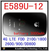 Desbloqueado Huawei E589 E589u-12 LTE 4 g wifi Hotspot router 4 g LTE mifi dongle FDD 2100 / 1800 / 2600 / 900 / DD800 pk e587 mf90 mf91 e5776