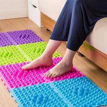 Explosion Pebbles Foot Massage Pad Shiatsu Blanket Yoga Mat Game Props Comfort Relaxing Foot Massage Cushion 29*39cm 1PCS(China (Mainland))
