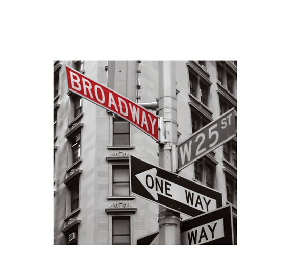 Http Www Aliexpress Com Item The Ny Broadway Guidepost Hot Sale Home Decor Movie Wall Poster