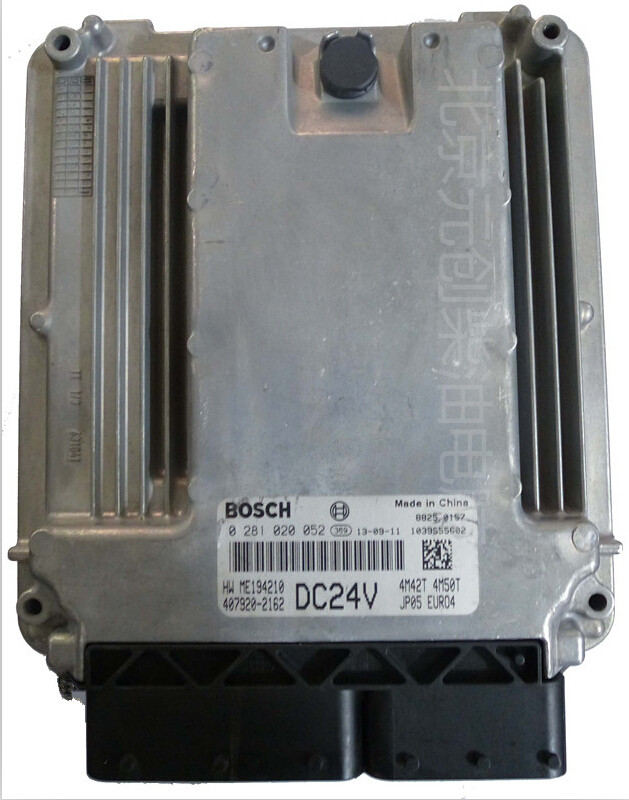USED 100% TESTED 0 281 020 052 DC24V Electronic control unit ECU computer board 0 281 020 052 DC24V(China (Mainland))