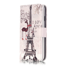 9 Card Holders Button Wallet Case for iPhone 7 4 7 Business Fashion PU Leather Cover