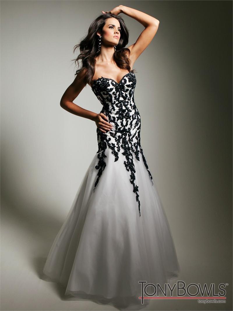Cheap tony bowl prom dresses