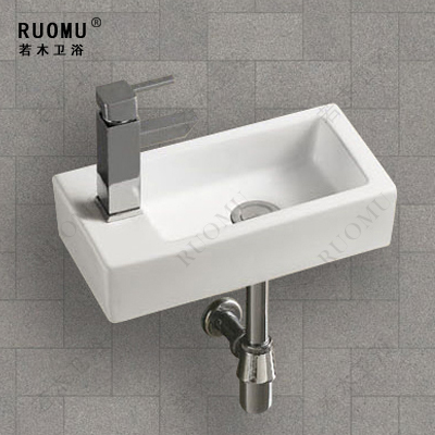Bathroom small hanging pots wash basin art basin bathroom for Comptoir salle de bain ikea