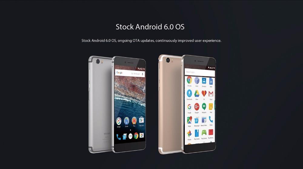 vernee Mars 4G LTE Mobile Phone 5.5″FHD Android 6.0 MT6755 Octa Core 1920*1080 4G RAM 32G ROM 13.0MP Fingerprint ID Smartphone