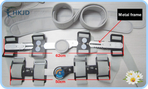 Adjustable Knee brace hinged knee support injury of meniscus of knee joint immobilization universal(China (Mainland))
