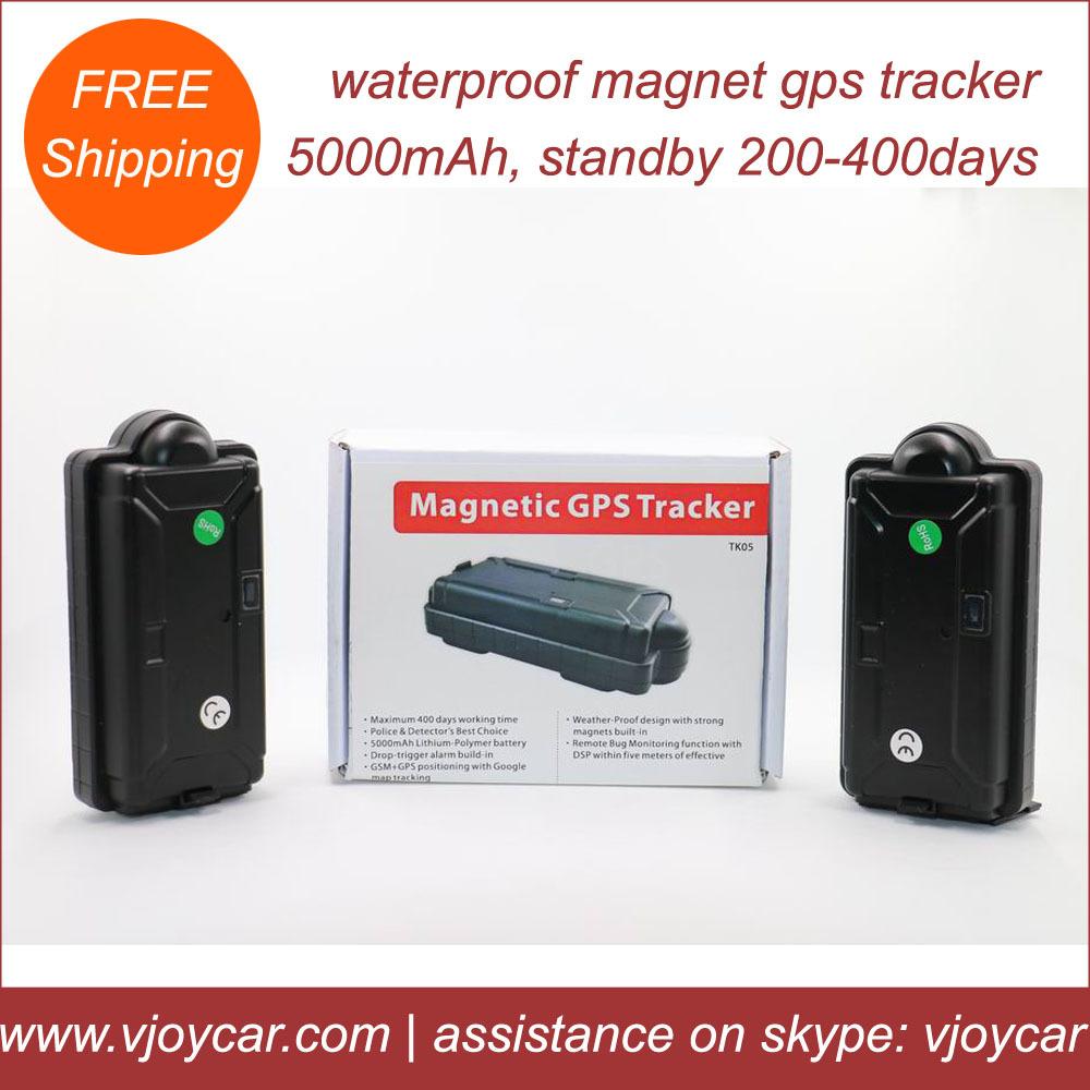 5000mAh big battery 900days long battery life waterproof magnetic rastreador gps for assets,cargo,train & vehicles(China (Mainland))