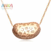 Jewelry Real Collares Mujer Sterling Jewelry 2016 Fashion Letters Necklace Engraved Letter Pendants Statement Choker #108647(China (Mainland))
