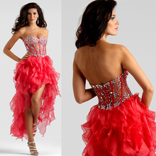 Maphia Cocktail Dresses High quality Sweetheart elegant red Short 2017 with Beads Crystals Mini Custom-made Sexy Prom Dress(China (Mainland))