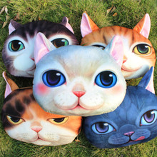 Pillow Personality Car Cushion Lovely Cat shape Nap pillow Cute seat Creative cushion,SKU 041CC30(China (Mainland))