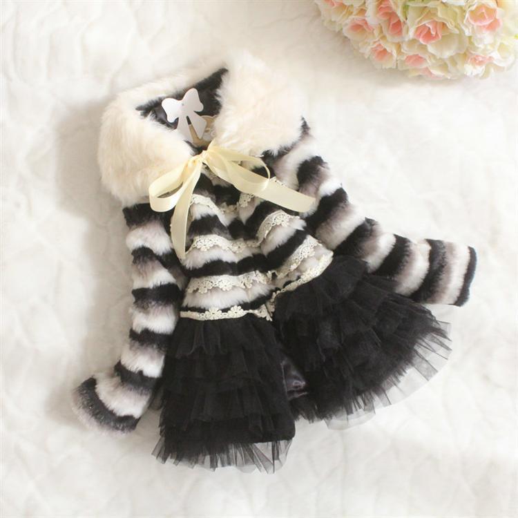 Wholesale - -Autumn/winter/spring children clothes floral lace tutu dress 4p/l<br><br>Aliexpress