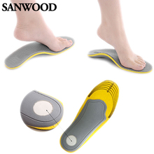 Pair 3D Premium Comfortable Orthotic Shoes Insoles Inserts High Arch Support Pad  Men Women 1NYL(China (Mainland))