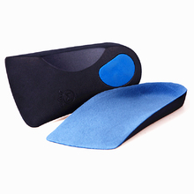 EVA Flat Foot Orthotics Arch Support Half Shoe Pad Orthopedic Insoles Foot Care for Men and Women
