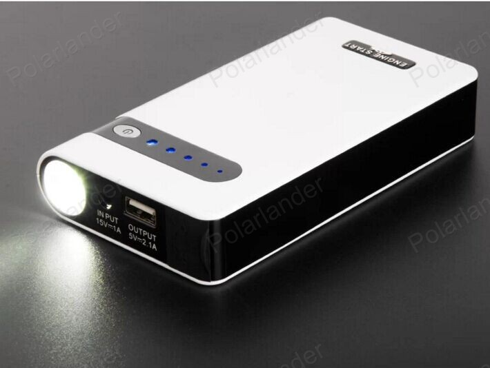 Super 7800mAh Car Jump Starter Auto Engine EPS Emergency Start Battery Source Laptop Portable Charger Mobile Phone Power Bank