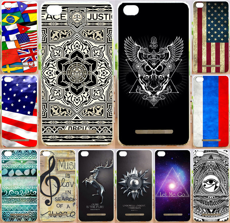 Best selling painted National Flag eyes magic PC Print moblie Phone Case For Xiaomi 4c mi4c mi 4c cases back cover skin shell(China (Mainland))