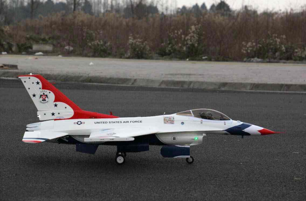 Freewing F-16 90mm white color F16 EDF jet plane Kit format<br><br>Aliexpress