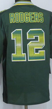 2015 New 12 Aaron Rodgers Jersey 27 Eddie Lacy 52 Clay Matthews Jersey 87 Jordy Nelson Elite Football Jersey Color:Blue/Yellow(China (Mainland))