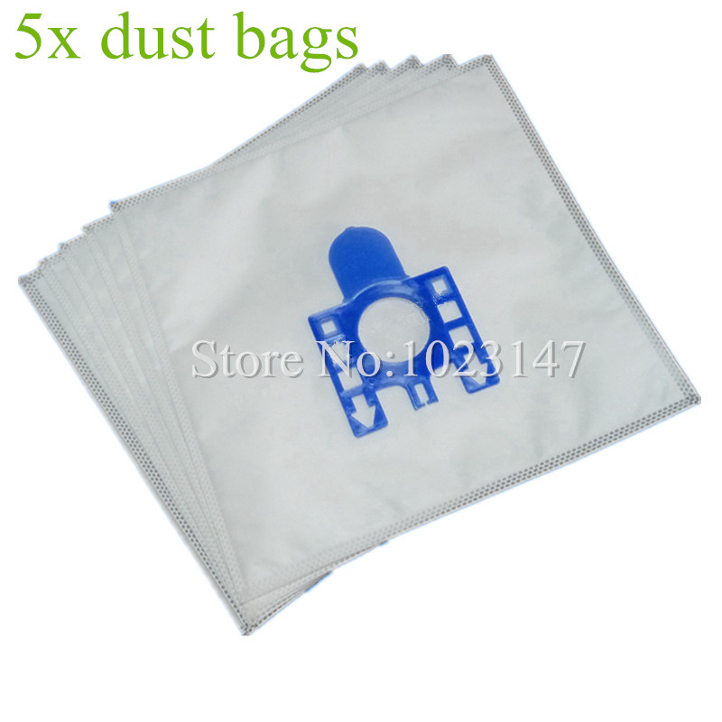 5 pieces Vacuum Cleaner HEPA Dust Bags Filter Dust Bag Replacement for Hoover H60 SENSORY TFB2223 Amigo 1500 T2001 TD3600-3699(China (Mainland))
