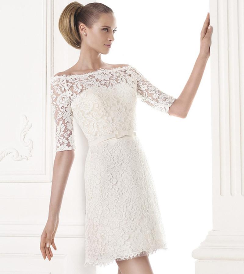 Online get cheap wedding dress under 100 for Short cheap wedding dresses under 100