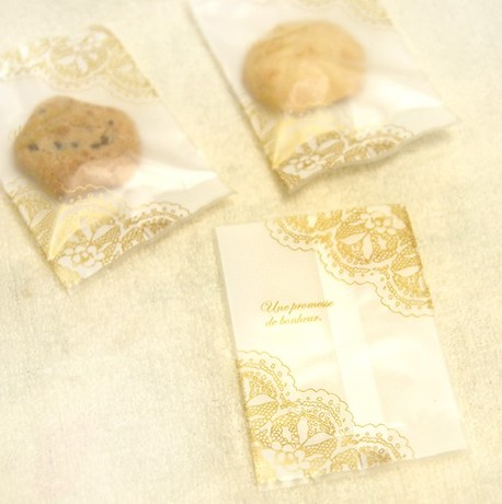 200X Mini Golden Lace Biscuits Cookie Pack Gift Soap Bags Handmade Supplies Hot Sealing Bag 8.5*11/10*13.5cm(China (Mainland))