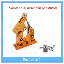 3D printer Reprap Kossel prusa bowden42 stepper motor full metal remote extruder on the right hole