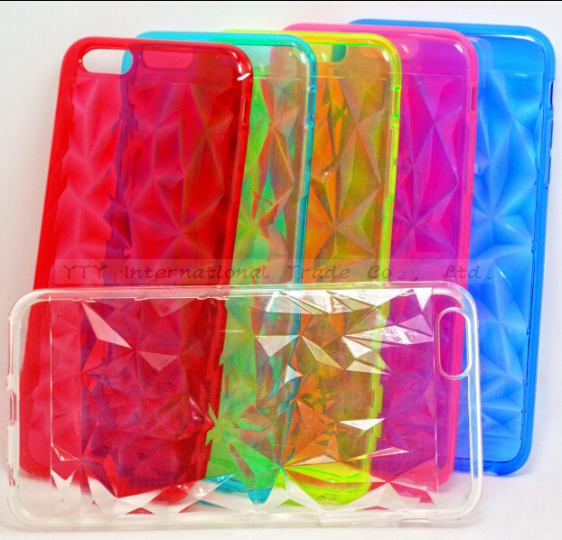 6/6S Pretty Prismatic Soft Silicone Cases iPhone 6 6S Case iPhone6 Back Cover Phone Shell 2016 Newest Arrival Best Top ! - PHONE-CASE HOME store