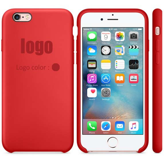 11 colors with logo! for apple iphone 6S 6S plus 2016 New Elegant luxury 1:1 official Copy Ultra slim Silicone Hard case cover