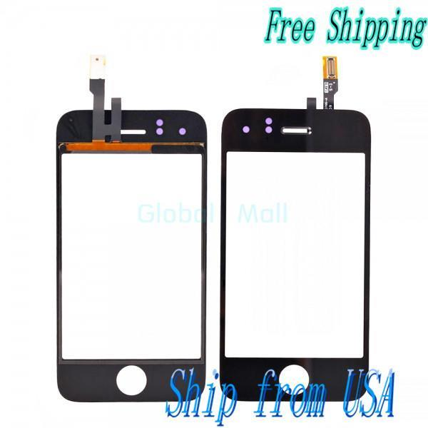 Ship From USA Touch Screen Digitizer Replacement for iPhone 3GS Black MS202(China (Mainland))