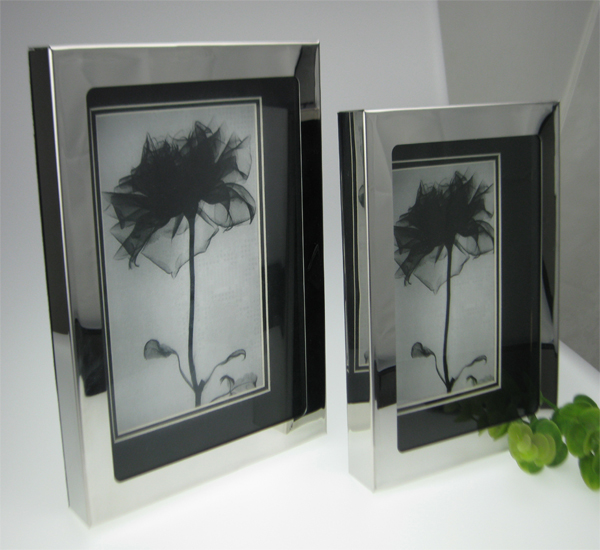 Stainless steel frame home supplies accessories photo frame stainless steel frame photo frame+Free shipping(China (Mainland))