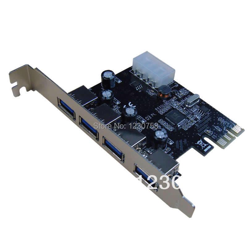 Потребительские товары OEM chipest 4 USB 3.0 USB3.0 PCI/e PCI HXKJ-3140 pci e to