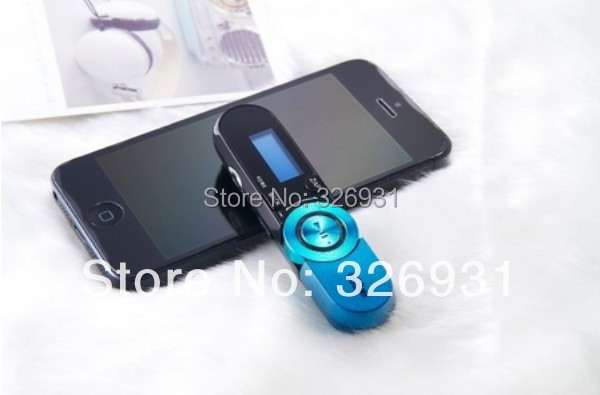 Fashion Real 8GB Screen MP3 Music Player With FM Radio +152 Digital + Record + Clip + Can Have LOGO 6 Colors 1PC Free Shipping(China (Mainland))