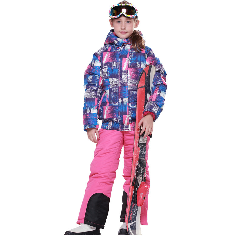 2PCS/Set Kids Clothes (Jacket coat+Rompers)Sport ski suit Girls Boys Clothes Toddler Baby tracksuit Winter children clothing(China (Mainland))