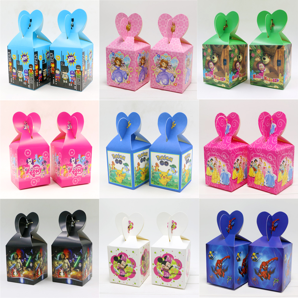 baby shower minnie candy box birthday party kids favors little pony