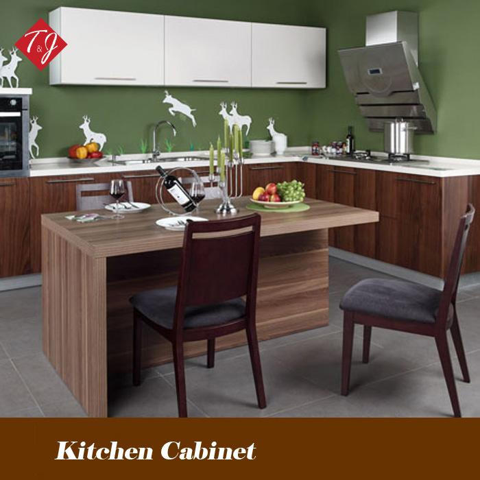 China Factory rustic kitchen cabinets Free Design With Door-to-Door Service Gabinete De Cozhiha ML05(China (Mainland))