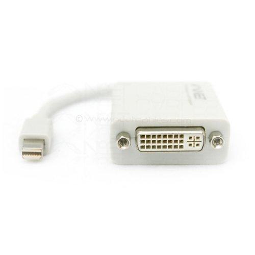 Wholesale 100pcs/lot Mini Displayport DP to DVI Cable Adapter for Apple iMac Mac Mini / Mac Pro / MacBook Air / MacBook Pro(China (Mainland))