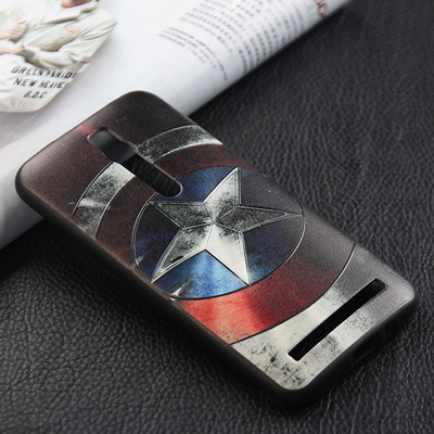 """24 style ideas case For Asus Zenfone 2 Case 3d stereo relief silicone soft Back Cover Case for Zenfone2 ZE550ML ZE551ML 5.5""""(China (Mainland))"""